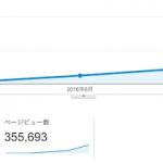 ブログ開始5ヶ月で月間37万PV達成!8月の日記。
